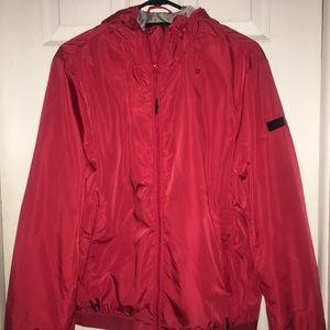 Armani Exchange Red wind breaker/jacket